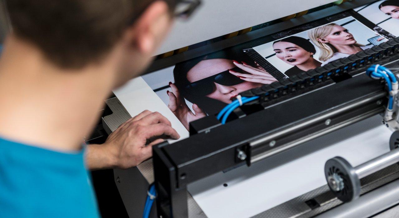 IFFLAND Fertigung - Digitaldruck