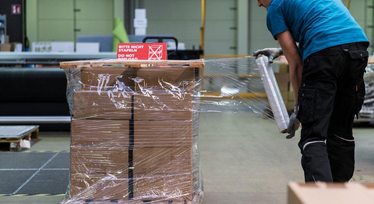 IFFLAND Versand & Logistik - Verpackung