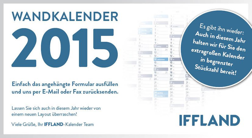 Iffland-kalender-2015