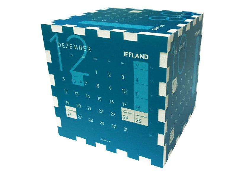 Iffland Würfel Kalender
