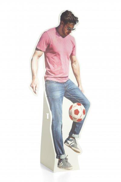 Aufsteller Fussballer